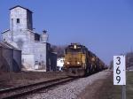 Grain train on the Pennsy