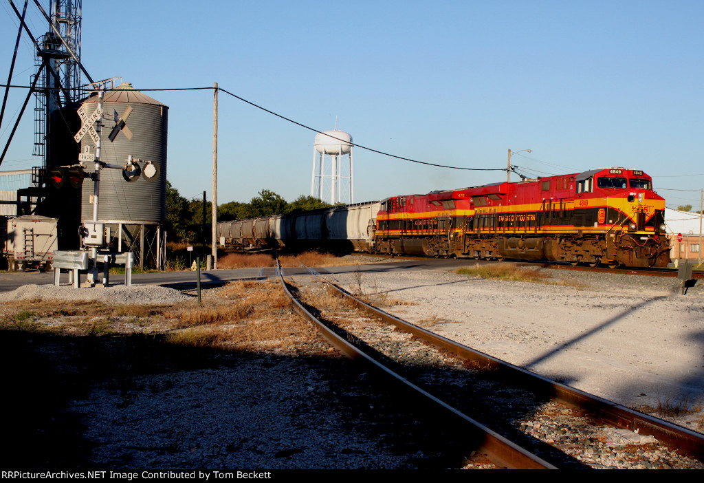 Passing the feed mill