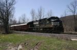 NS Inspection train passing through Beaver Dams, NY
