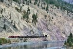 CP 8953 WB CN Ashcroft Sub Coal Loads at the Skoonka Tunnels