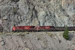 CP 8953 WB CN Ashcroft Sub Coal Loads