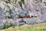 CN 3025 WB CN Ashcroft Sub at the Skoonka Tunnels