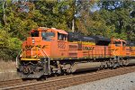 BNSF 9320 On NS 735 Northbound