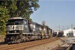 NS 7008 On A Northbound Grain Train