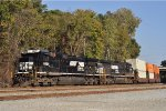 NS 8826 Northbound Out Of Inman Yard
