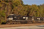 NS 8942 Northbound Out Of Inman