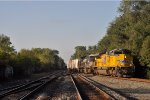 UP 8793 On NS 124 Westbound With A Meet On The CSX