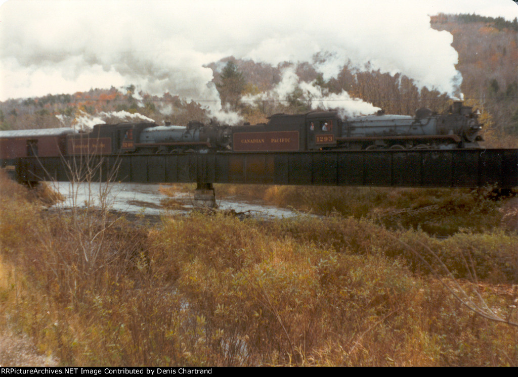 Steamtown Bellows Falls Vermont October 1980