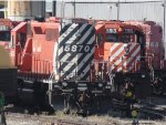 Stored SD40-2`s