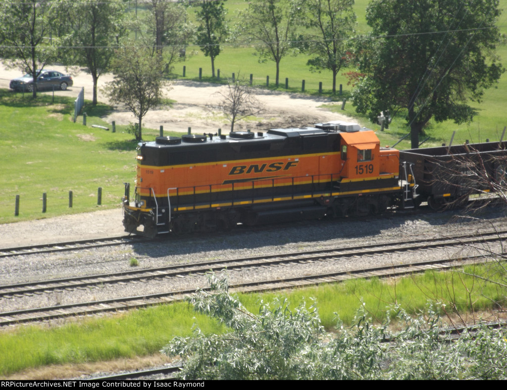 BNSF 1519 at the Westview yard