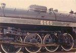 CNR 4-8-2 6060 restored