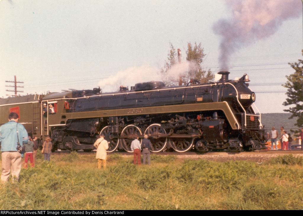 CNR 4-8-2 6060 first trip after restoration