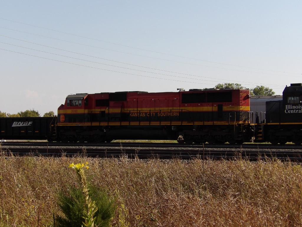 KCS SD70MAC 3960