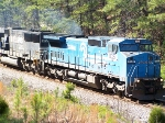 NS and Conrail locomotives headed east