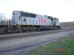 TFM 1603 (SD70MAC) heading EB on the #1 track