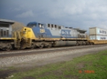 CSX 248 (AC4400CW) heads WB on the #1 Track
