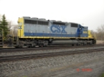 CSX 8410 (SD40-2) heads EB on the #1 Track