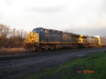 CSX 5249 (ES44DC) & CSX 654 (AC6000CW) head WB on the #2 Track
