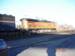 BNSF 4746 (C44-9W) heads EB into DeWitt Yard on the #1 Track