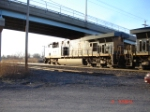 CSX 5229 (ES44DC) glared by the sun, but heading WB towards Wegmans