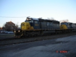 CSX 8832 (SD40-2) & CSX 752 (SD70MAC) head WB on the #2 Track