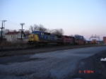 CSX 7908 (C40-8W) & HLCX 6515 (SD40M-3) lead a WB Stack Train on the #1 Track