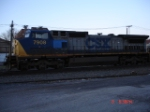 CSX 7908 (C40-8W) heads WB with a Conrail Air Conditioner