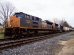 CSX 4834 with Q142 Northbound
