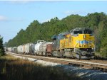 UP 8851 (SD70AH) CSX 3156 (ES44AC-H)