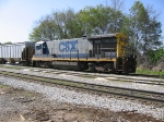 Y111 with CSX 5512 parked at the depot