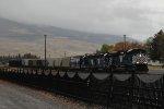 Train R-MRL8411-03 arriving back in Livingston.