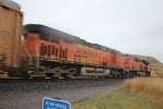 BNSF 6424 and 6652