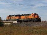 BNSF GP35u 2616