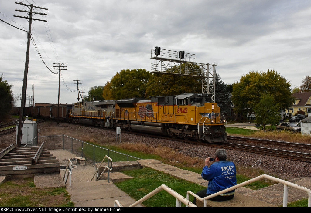 UP 8945 eastbound coal