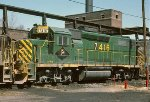 First anniversary for GP39-2 7416 with the D&H!