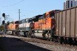 BNSF 9072 Coal Train DPUs