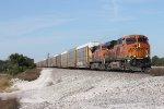 BNSF 6686 Autorack Train