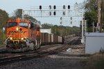 BNSF 5852 Coal Train