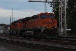 BNSF 5802 Coal Train DPUs