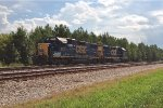 CSX GP38-2's 2714 and 2708 team up