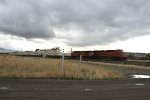 BNSF's Q-PTLALT9-05 tears through East Livingston