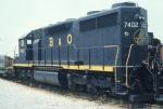 BO 7402 at Baltimore Railroad Museum