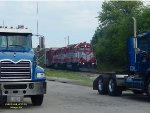"L599 is ""on truck"" to return to Horicon"