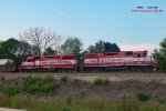 L249's geeps prepared to roll southeast to Milwaukee