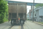 Chased alot of trains but never quite like this.  Street running west brownsville PA