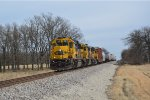 BNSF 184 brings the monett local into