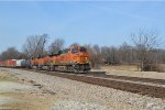 BNSF 7286 with the TULGAL