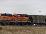 BNSF GP39-3 2551