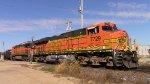 1 - 3 BNSF 7729, 5142 & (DPU) leads CP 574 south thru Dubuque
