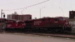 CP B39 northbound at Dubuque Jct.